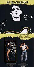 """Lou Reed """"Transformer"""" Zweites Werk, von 1972! 11 Songs + Bonustracks! Neue CD!"""