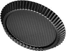 Non-Stick Carbon Steel Flan/Tart Pan, 11-Inch