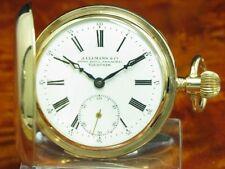 J.Ullmann & Co. 14kt Gold Savonette Sprungdeckel Taschenuhr Minuten Repetition
