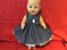 """17"""" Dolls Clothes fits Baby Born Or Similar Size Doll."""