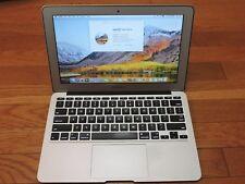 "Apple Macbook Air 11"" (11.6"") laptop (2011) 1.6 GHz Intel Core i5 4G 128 GB"