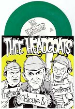 "Thee Headcoats ""Hatred Ridicule & Contempt"" 7"" Billy Childish Headcoatees Coop"