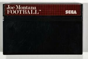 SEGA Master System JOE MONTANA FOOTBALL Sport/Mehrspieler/Multiplayer/Ballsport