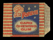 1959 POPEYE GUM CARD WRAPPER HQ KING FEATURE SUNDICATE CONFECTIONARY