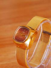 Zaria Poljot Sekonda  Soviet Automatic Watch Gold Plated Au 20 New Nos 30 Jewels