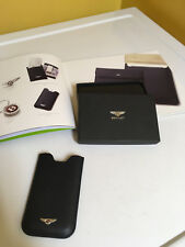 BENTLEY IPHONE 5 (AND SIMILAR SIZED) HANDMADE LEATHER CASE IN NAVY BLUE. NIB