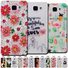 Soft Clear Back TPU Pattern Cute Skin Protective Silicone Case Cover For Samsung