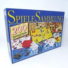 SCHMID Spiele Sammlung Schach Dame Halma Yatzi Rommé Pokerwürfel Pachisi Mühle