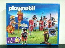 Playmobil Romani 4271 LEGIONARI con VESSILLIFERO e BALLISTA MIB, 2005