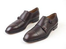 NIB🔥 PAOLO SCAFORA SIZE: US 10 & 11 & 12.5 Dress Shoes Dark Brown (MARONE)