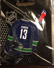 NHL Vancouver Canucks Mats Sundin Jersey Pin, Badge, Lapel, Hockey