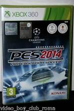 PES 2014 PRO EVOLUTION SOCCER 14 GIOCO NUOVO XBOX 360 EDIZIONE ITALIANA