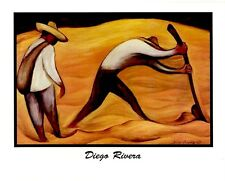 Diego Rivera: PEASANTS - 10x8 In. Art Poster Repro.