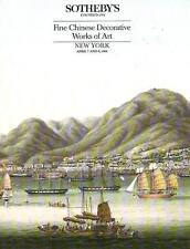 Sotheby's Fine Chinese Decorative Works of Art 1988