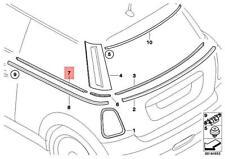 Genuine MINI Cooper One R56 Insert Trim Strip Side Panel Rear 51372754857
