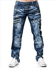 KOSMO LUPO Herren Jeans Hose ZIPPER Denim Japan Style  NEU! KM051