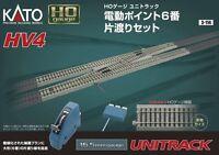 New Kato HO 3-114 HV4 Interchange track  #6 Electric Turnouts JAPAN F/S S2632
