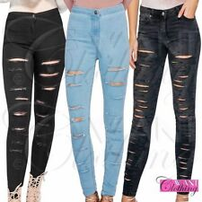 Unbranded Distressed High Rise Jeans for Women