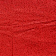 """Brother Sister Cotton Quilt Fabric RED Calico Tonal Print 45"""" W x 2 Yards"""