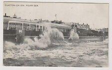 Essex postcard - Clacton on Sea, Rough Sea