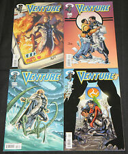 Modern Image VENTURE 4pc Count High Grade Comic Lot #1-4 Noble Causes