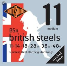 Rotosound BS11 British Steel Guitar Strings