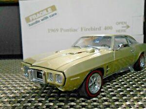 "Danbury Mint 1:24 1969 Pontiac Firebird 400 ""Champagne Metallic"""