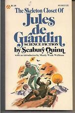 The Skeleton Closet of Jules De Grandin POPULAR 08527 1976 1ST SEABURY QUINN