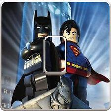 Marvel lego batman Interrupteur De Lumière Vinyle Autocollant Décalque Pour Enfants Chambre à coucher #23