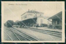 Gorizia Cormons Stazione Treno cartolina QT2992