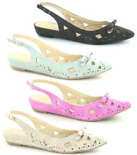 Spot On Synthetic Casual Slingbacks for Women