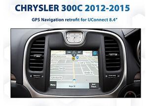 Chrysler 300c 2012-2015 - UConnect 8.4 Integrated GPS Navigation