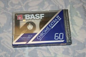 BASF CX II Audio Cassette Kassette Tapes - OVP Sealed NEU NEW - Made in Germany