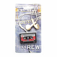 Mini Cassette Tape Cable Tie Cord Organizer Headphone Earphone Wrap Winder Rew