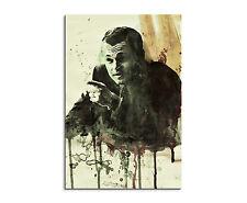 90x60cm -PAUL SINUS- Splash Art Gemälde Leonardo DiCaprio Anzug Geschenkartikel