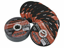"""Pack of 5 Metal Cutting Discs / Blades  4.5 """" - 115 mm"""