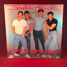 "SEVENTH AVENUE Love's Gone Mad 1985 UK 12"" vinyl single EXCELLENT CONDITION"