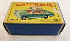 Vintage Lesney Matchbox #56 FIAT 1500