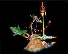 Yujin Thunderbirds Thunderbird figure Base Island gashapon (Full set 4 pcs)