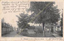 CPA 41600 CHAON Place de la Mairie Edit BARTHOLIN CHAPON ca1906