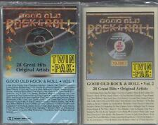 GOOD OLD ROCK & ROLL 56 Songs Coasters Crests Billy Joe Royal NEW 2 Cassettes