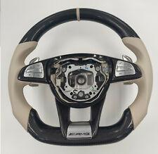 Mercedes Benz AMG lenkrad Carbon veredelt C63 C63s E63 C190 S63 W205 W222 W217