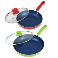 Dia 26cm/10 inch Nonstick Saute Pan Omelette Fry Pan Saucepan With Lid