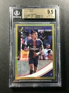 KYLIAN MBAPPE 2018 DONRUSS #53 PRESS PROOF GOLD HOLOFOIL PARALLEL /75 BGS 9.5