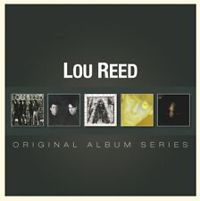 LOU REED - 5CD ORIGINAL ALBUM SERIES (NEW & SEALED) Inc New York Ecstacy