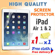 1 new High Quality Screen protective protection film foil for apple iPad Air 1 2
