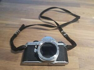 Pentax ME Super 35mm SLR Film Camera Body Only, with strap