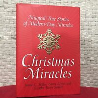 Christmas Miracles : Magical True Stories of Modern-Day Miracles Miller HC DJ 1s