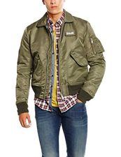 Schott Homme Blouson Original Jacket Vert Medium