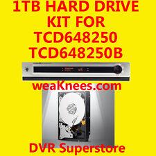 1Tb Tivo Hard Drive Upgrade/Repair Kit For Tcd648250 Series3 Tivo. 6-Mo Warranty